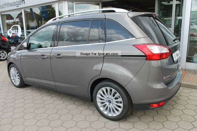 2012 ford grand c max 2 0 tdci titanium car photo and specs. Black Bedroom Furniture Sets. Home Design Ideas