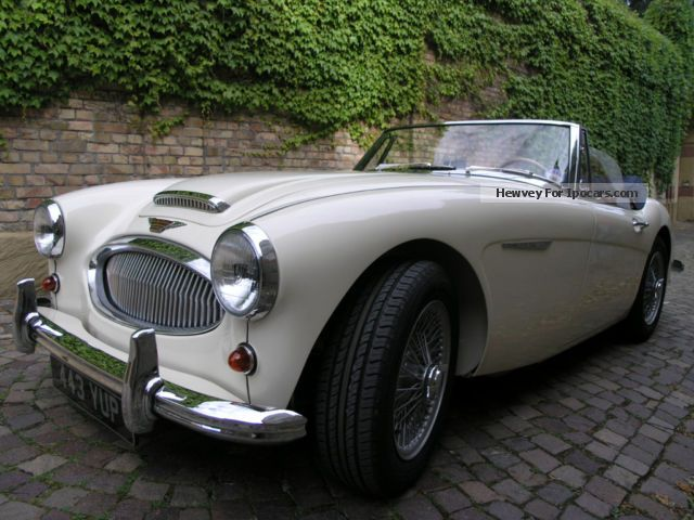 Austin Healey  3000 BJ7 1962 Vintage, Classic and Old Cars photo