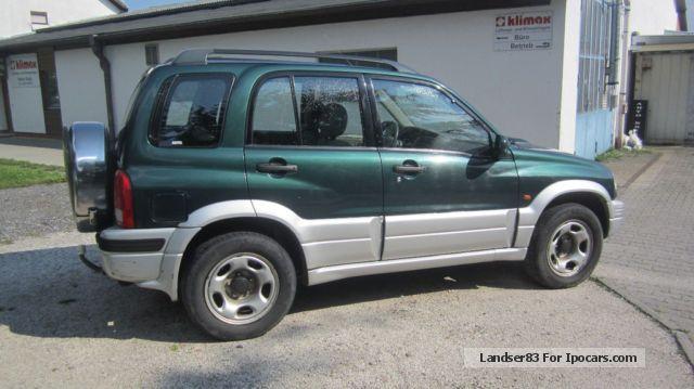 1999 Suzuki Grand Vitara 20 TD Off Road Vehicle Pickup Truck Used Photo