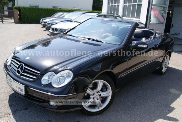 2003 Mercedes Benz Clk 500 Avantgarde Convertible Fully
