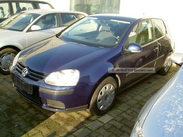 Volkswagen  Golf 1.4 Trendline 2005 Liquefied Petroleum Gas Cars (LPG, GPL, propane) photo