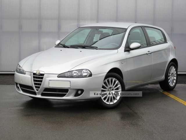 2008 Alfa Romeo  147 2 ª serie 1.6 16V TS (105) 5p. Distinctive Saloon Used vehicle photo