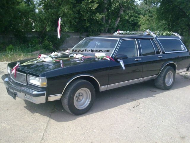 1987 Chevrolet  Caprice Estate Car Used vehicle(Accident-free) photo
