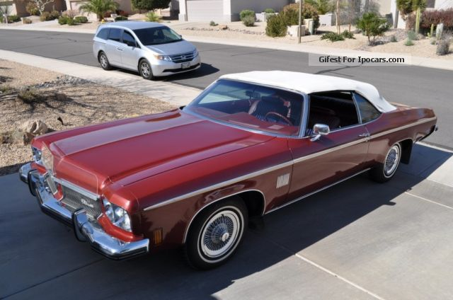 Oldsmobile  Convertible newly arrived from USA 1973 Vintage, Classic and Old Cars photo