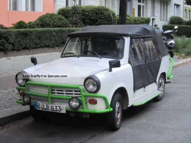 1991 Trabant  TRAMP Convertible - recreational fun of the 90 Cabriolet / Roadster Used vehicle (Accident-free) photo