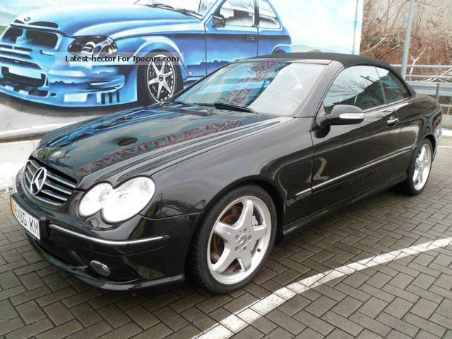 2005 mercedes benz clk 55 amg convertible full full 132tkm. Black Bedroom Furniture Sets. Home Design Ideas
