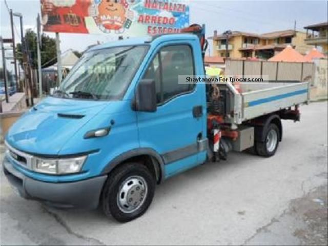 Iveco  Daily 35C17 GRU PALFINGER RIBALTABILE TRILATERALLY 2005 Race Cars photo