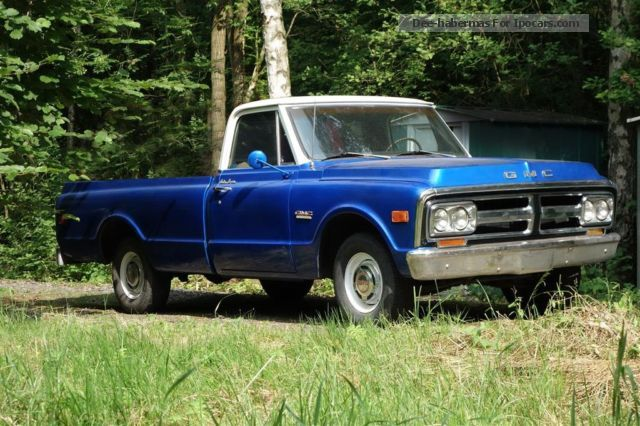 GMC  C1500 Pickup V8 Automatic 350cui 1969 Vintage, Classic and Old Cars photo