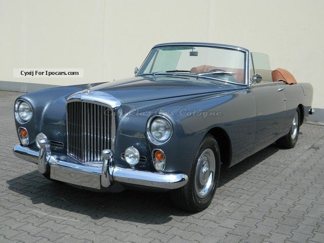 Bentley  S2 Continental Park Ward DHC 1960 Vintage, Classic and Old Cars photo