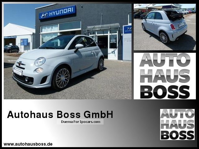 2013 Abarth  500 C 1.4 16V Abarth 1.4 turbo, exh Top Cabriolet / Roadster Used vehicle photo
