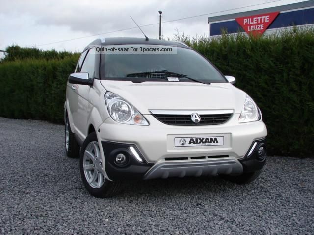 2012 Aixam  Crossover nouvelle gamme impulsion Estate Car New vehicle photo