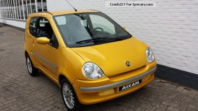 2005 Aixam  500.4 GOLD moped car microcar 45kmh Small Car Used vehicle (Accident-free) photo