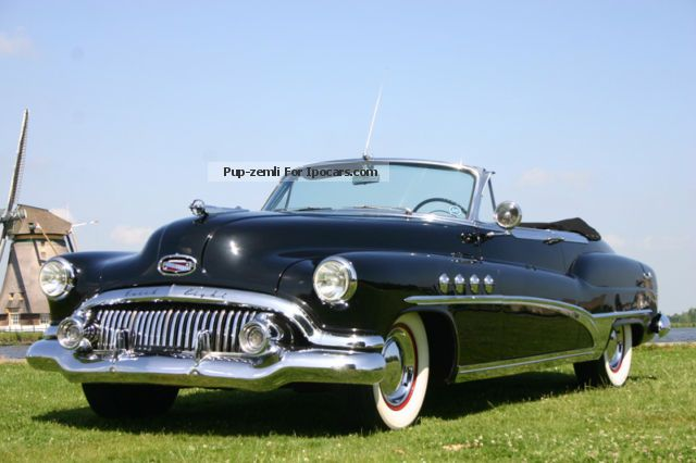 Buick  Roadmaster Convertible 1951 - Excellent 1951 Vintage, Classic and Old Cars photo