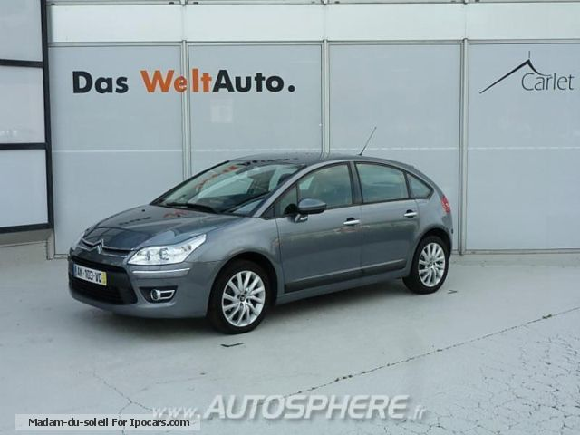 2010 Citroen  C4 1.6 Exclusive HDi110 FAP BMP6 Saloon Used vehicle photo