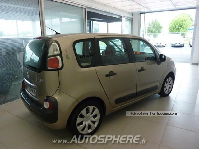 2010 citroen c3 picasso confort 1 6 hdi90 car photo and specs. Black Bedroom Furniture Sets. Home Design Ideas