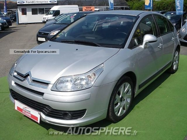 2006 Citroen  Citroën C4 1.6 HDi110 FAP Dynamique Pack Saloon Used vehicle photo
