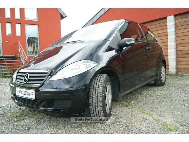2006 mercedes benz a 150 autotronic 40000km garantie car photo and specs. Black Bedroom Furniture Sets. Home Design Ideas