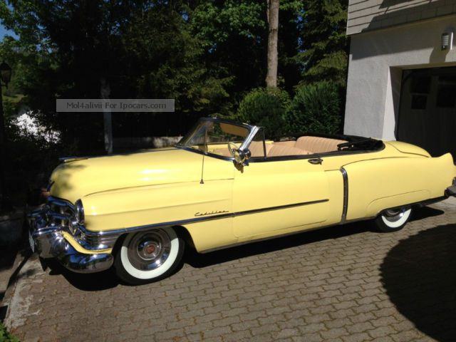 Cadillac  62 Series convertible 1950 Vintage, Classic and Old Cars photo