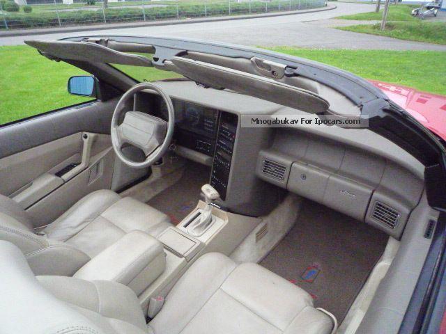1993 Cadillac Allante - Car Photo and Specs