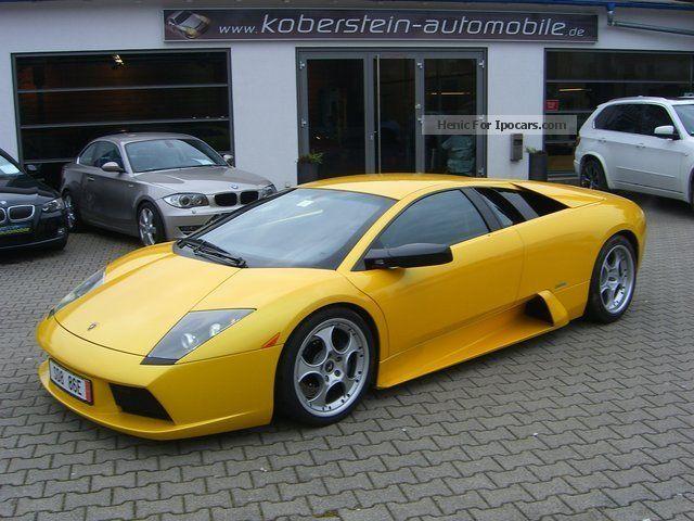 2002 Lamborghini Murcilago 62 Car Photo And Specs