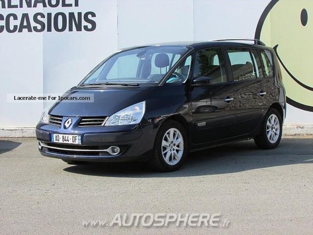 2007 renault espace 2 0 dci130 alyum plus car photo and specs. Black Bedroom Furniture Sets. Home Design Ideas