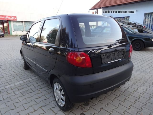 2005 chevrolet matiz 0 8 servo new tuv car photo and specs. Black Bedroom Furniture Sets. Home Design Ideas