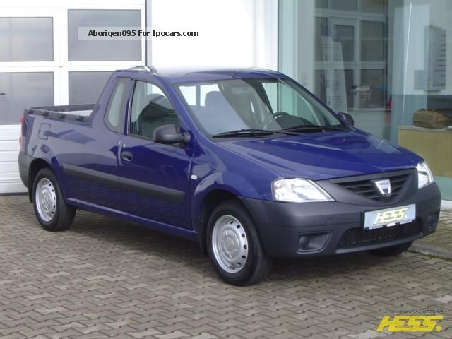 dacia logan pick up dimension garage dacia pick up prix dacia logan pick up photos 2 on better. Black Bedroom Furniture Sets. Home Design Ideas