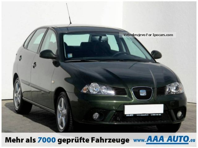 2006 seat ibiza 1 4 16v 2006 car photo and specs. Black Bedroom Furniture Sets. Home Design Ideas