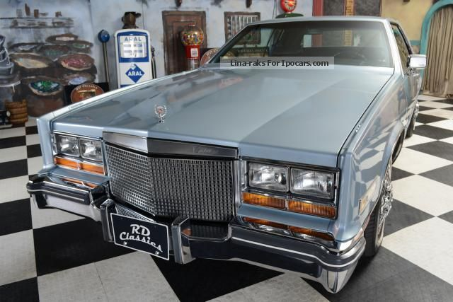 1981 Cadillac Eldorado Coupe Car Photo And Specs