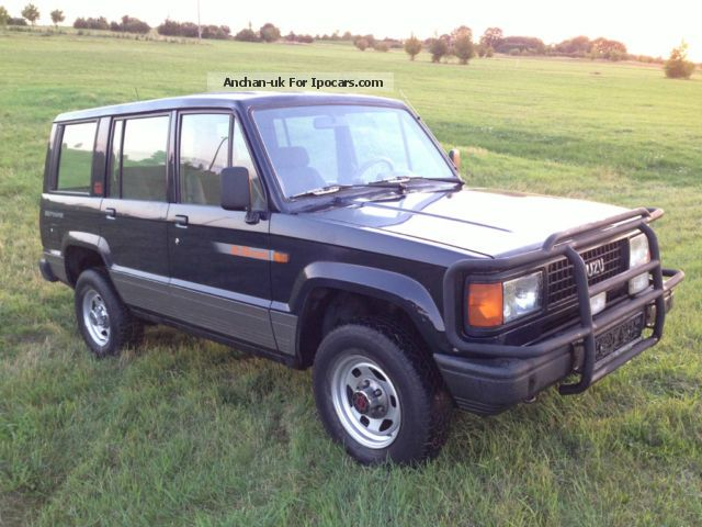 1991 isuzu trooper flk 4 hand car photo and specs. Black Bedroom Furniture Sets. Home Design Ideas