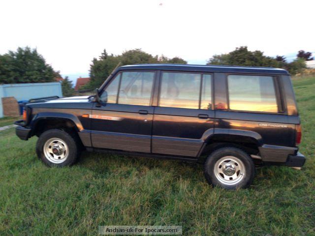 1991 isuzu pickup 4x4 1991 isuzu trooper 5 doors off road vehicle