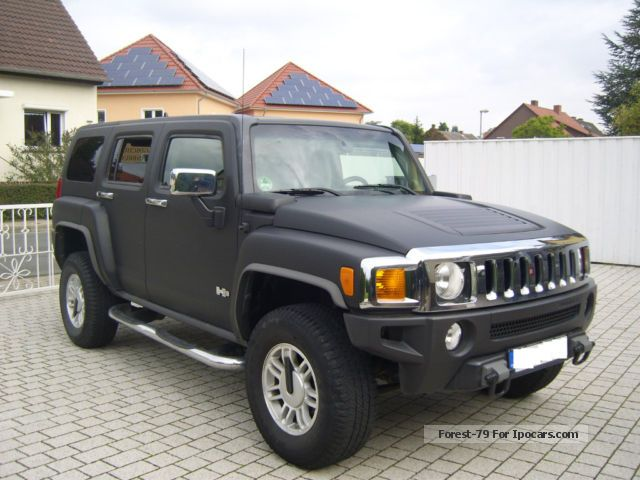 2008 Hummer  3.5 Air, matt black, cargo space conversion, towbar, Off-road Vehicle/Pickup Truck Used vehicle photo