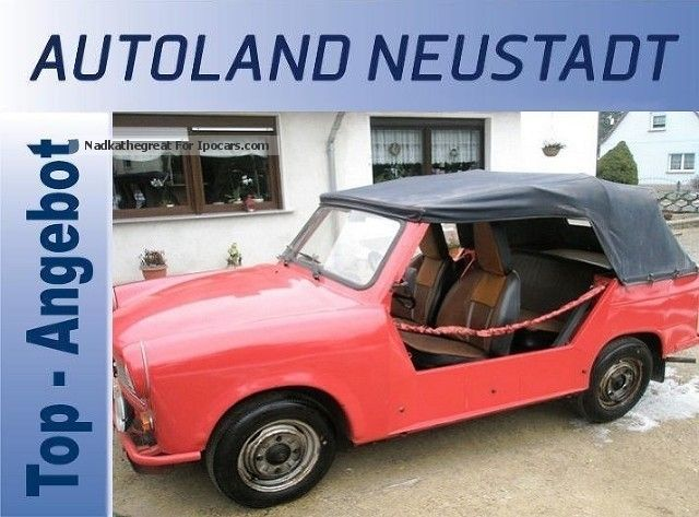 1970 Trabant  Other Cabriolet / Roadster Used vehicle (  Accident-free ) photo