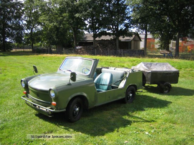 1977 Trabant  601 Cabriolet / Roadster Used vehicle photo