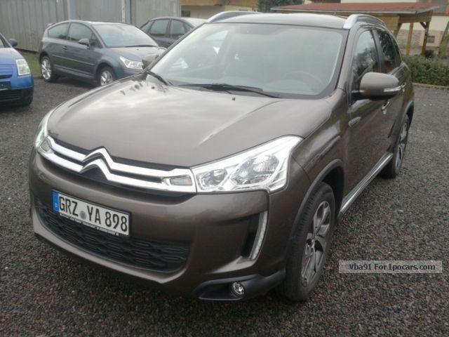 2012 Citroen  Citroën C4 Aircross 1.6 Stop \u0026 2WD Tendance Off-road Vehicle/Pickup Truck Used vehicle (  Accident-free ) photo