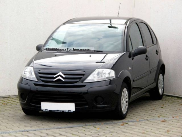 2008 citroen c3 1 4 i 2008 car photo and specs. Black Bedroom Furniture Sets. Home Design Ideas
