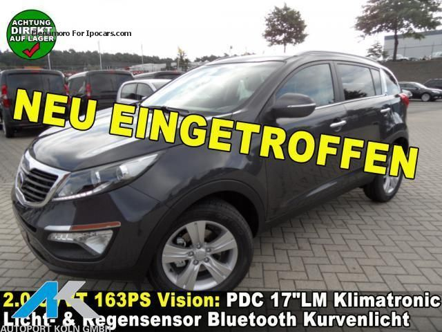 2012 Kia  Sportage 2.0 CVVT, PDC 17LM Klimatronic Off-road Vehicle/Pickup Truck New vehicle photo