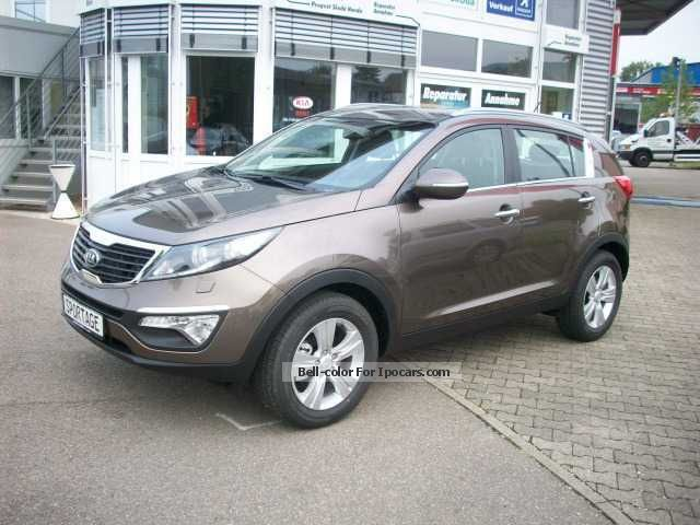 2013 Kia  Sportage 1.7 CRDi 2WD vision by dealer Off-road Vehicle/Pickup Truck Demonstration Vehicle(  Accident-free) photo