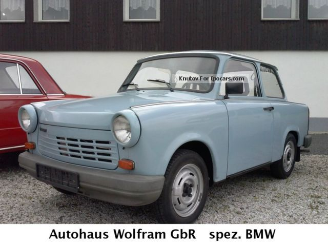 1990 Trabant  1.1 top condition HU / AU Small Car Used vehicle photo