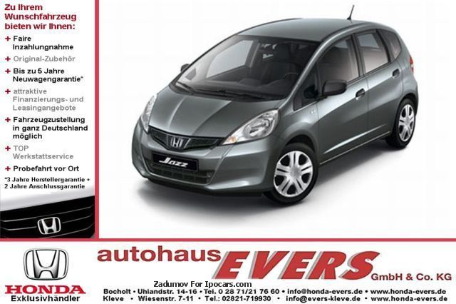 2013 Honda  Jazz 1.2 i-VTEC Cool / Advantage Saloon Pre-Registration (  Accident-free ) photo