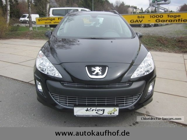 2012 peugeot 308 sw 120 vti access tageszulass u003e 11900 euro car photo and specs. Black Bedroom Furniture Sets. Home Design Ideas