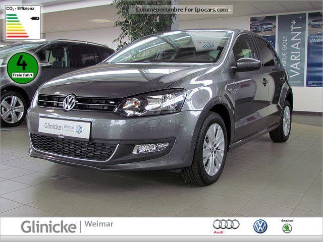 2012 Volkswagen  Polo 1.6 TDI BlueMotion Life SHZ PDC AIR NAVI Small Car New vehicle photo