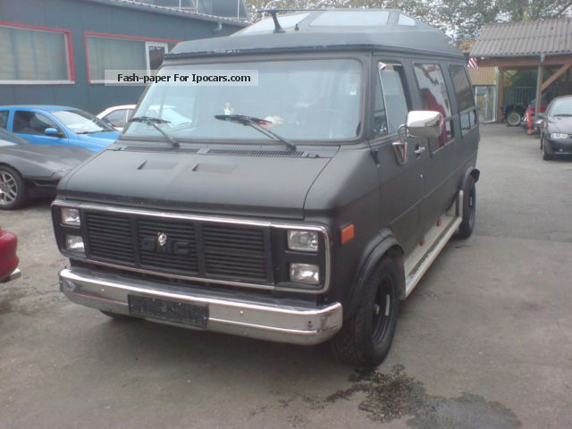 GMC  Vandura gas plant 1987 Liquefied Petroleum Gas Cars (LPG, GPL, propane) photo