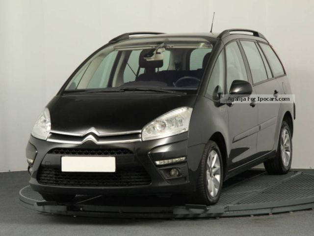 2011 citroen c4 grand picasso 1 6 hdi 2011 car photo and specs. Black Bedroom Furniture Sets. Home Design Ideas