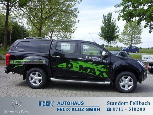 Four Wheel Drive Taxi : Isuzu double cab auto ahk cruise control four