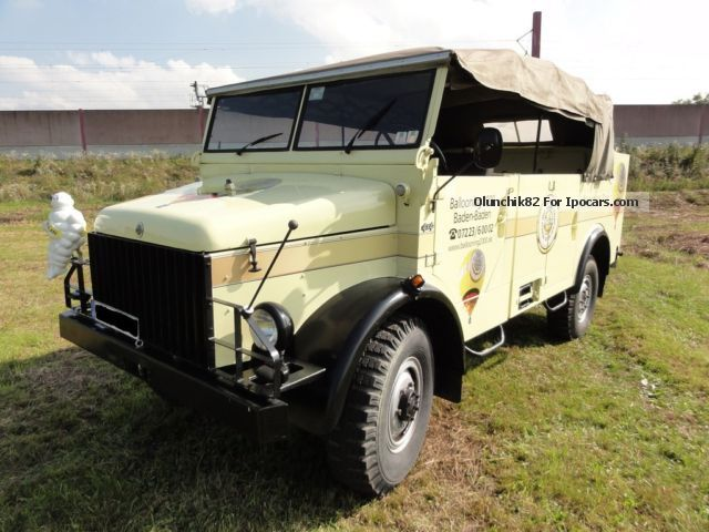 Borgward  B2000 A / O jeep 1961 Vintage, Classic and Old Cars photo