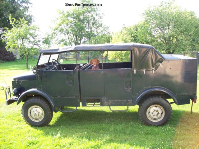 Borgward  B2000 A / O jeep 1958 Vintage, Classic and Old Cars photo
