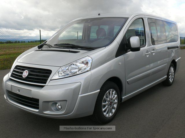 2012 Fiat  Scudo Panorama Executive L2H1 130 `8 seater` Estate Car New vehicle photo