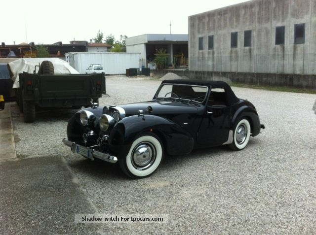 Triumph  Roadster 1948 Vintage, Classic and Old Cars photo