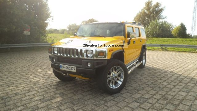 Hummer  H2 6.0 V8 Horny Obtik 2005 Liquefied Petroleum Gas Cars (LPG, GPL, propane) photo